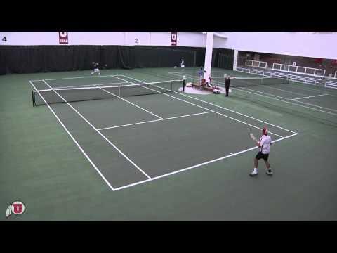 University Of Utah - Men's Tennis - Utah Vs Portland