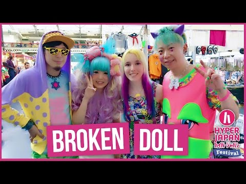 Japanese Pop-Punk - Mini Interview with Broken Doll at Hyper Japan July 2016