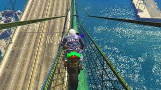 EXTREME BRIDGE COURSE! (GTA 5 Funny Moments)