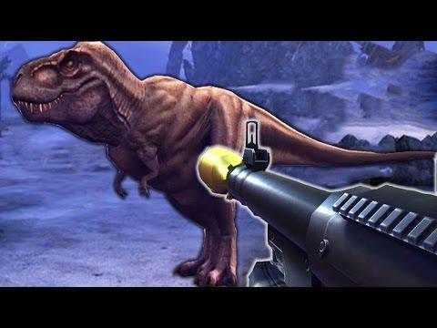 DINOSAURUS Vs RPG - Dino Hunter Deadly Shores