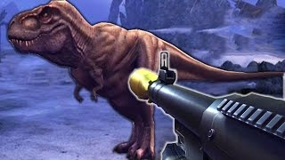 DINOSAURUS Vs RPG - Dino Hunter Deadly Shores