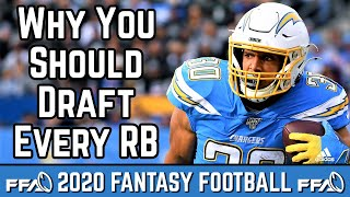 Why You Should Draft Every Running Back - 2020 Fantasy Football Advice