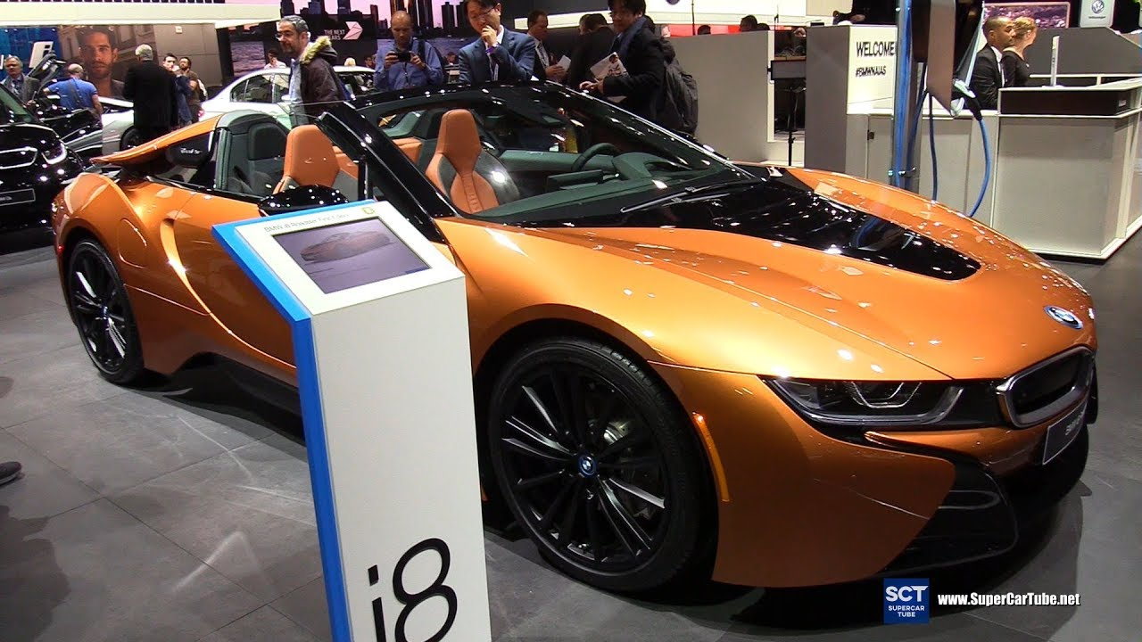 2019 Bmw I8 Roadster Exterior And Interior Walkaround 2018