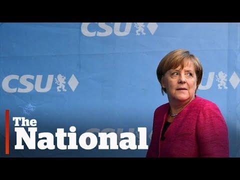 Angela Merkel, chasing 4th German election win, makes final campaign push