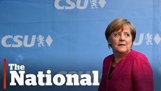 Angela Merkel, chasing 4th German election win, makes final campaign push