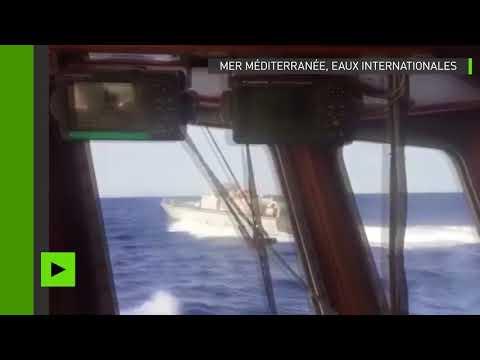 Un bateau espagnol de sauvetage de migrants chassé par les garde-côtes libyens en Méditerranée
