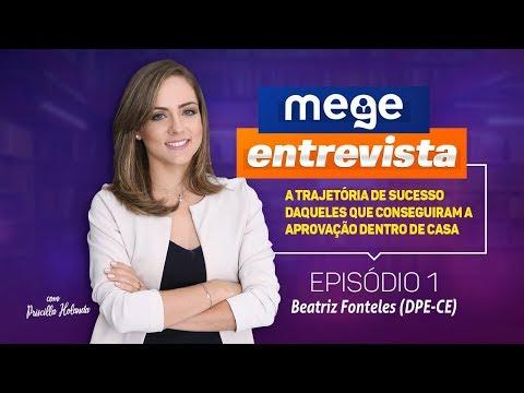 Mege Entrevista (1ª Temporada: Eu passei em casa - Episódio 1, Beatriz Fonteles)