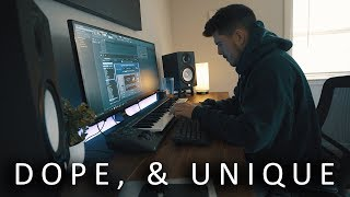 THIS ONE IS DOPE! *unique* (making a beat fl studio)