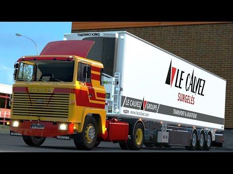 ETS 2 1.24 ProMods 2.03 Scania 140 Bern - Geneve