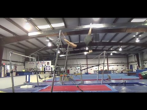 HOW TO SWING ON THE BARS - BASIC TAP SWINGS TUTORIAL - Gymnastics Uneven Bars High Bar Parkour thumbnail