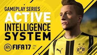 FIFA 17 Gameplay Features |  Active Intelligence System | Marco Reus | PS4