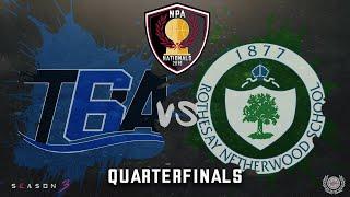 Toronto Basketball Academy vs Rothesay Netherwood School - NPA Nationals