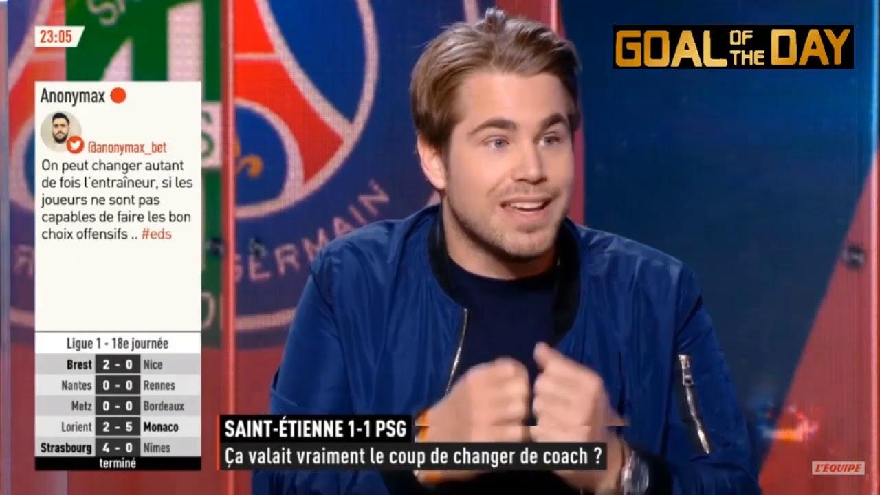 Download L'Equipe du soir 6 janvier 2020 Marseille 3-1 Montpellier , Saint-Etienne 1-1 Psg