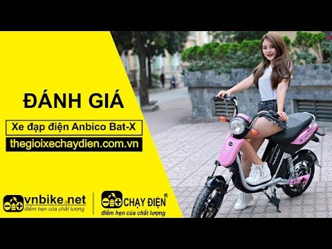 Đánh giá xe đạp điện Anbico Bat-X