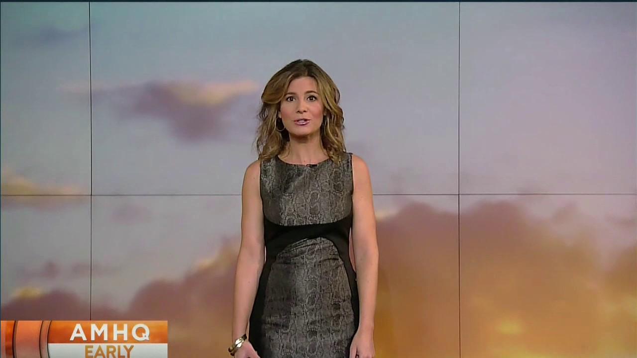 Jen Carfagno Green Dress
