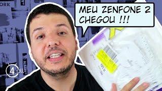 Zenfone 2 - Chegou meu Asus Zenfone  (Unboxing)