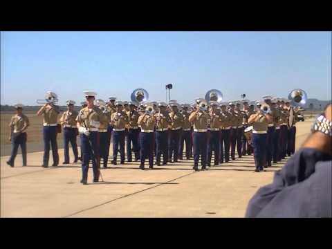 The 3rd Marine Aircraft Wing Band at the 2012 Miramar Air