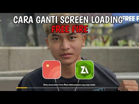 TUTORIAL GANTI SCREEN LOADING FF PAKAI FOTO EVOS STREET! V1.60.7