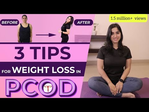 3 Simple Weight Loss Tips with PCOS | Cure PCOD (in Hindi) | GunjanShouts