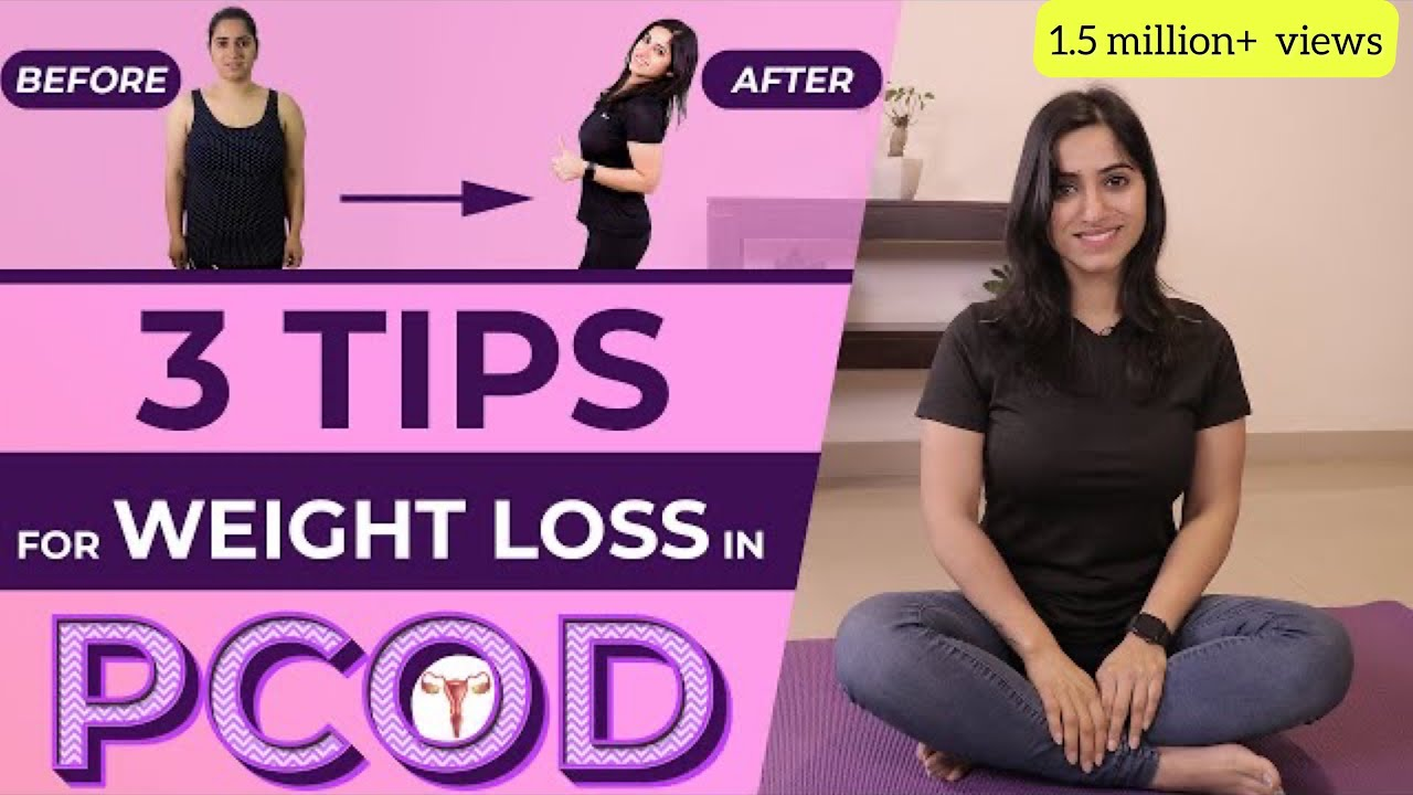 3 Simple Weight Loss Tips with PCOS   Cure PCOD (in Hindi)   GunjanShouts