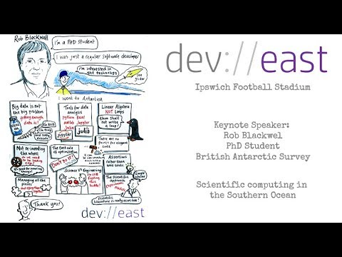 Dev://east 2018 - JuliaLang & Scientific Computing In The Southern Ocean Presented By Rob Blackwell