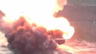 Russian T-72 Killed by Tow-2B Anti-Tank Missile