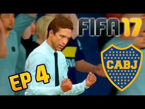 Los MEJORES PARTIDOS del Modo Carrera con BOCA - FIFA 17 Argentina Ep4