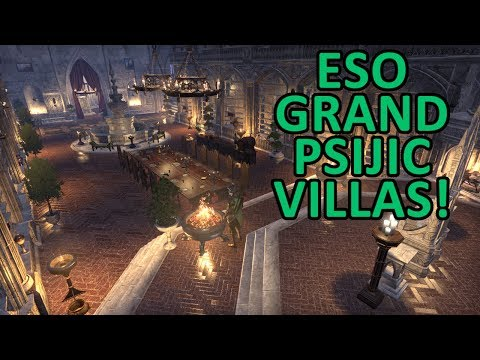 ESO | Touring newly decorated Grand Psijic Villas! Come get some decoration inspiration!