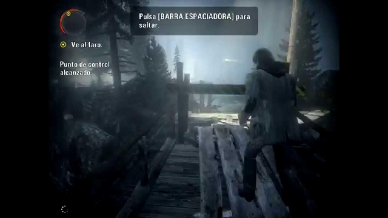 alan wake test gameplay