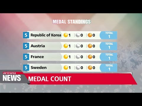 Olympic medal count after Day-2