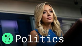 White House Press Sęcretary Kayleigh McEnany Holds Briefing
