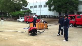 細谷分団 操法 2011.6.7