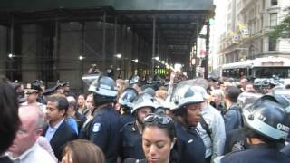 A Tour of the Intersection of Wall and Broadway, NYC, #S17, #OWS