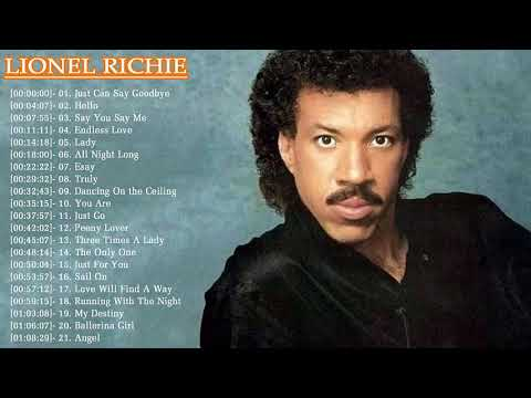 Lionel Richie Greatest Hits | Best Of Lionel Richie Full Album Live 2017 l Lionel Richie Collection