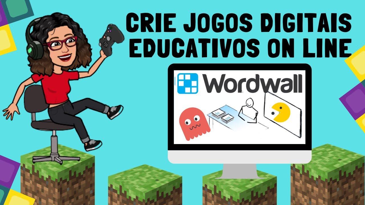 Criar Jogo On Line Educativo Com Wordwall Aula Divertida Youtube