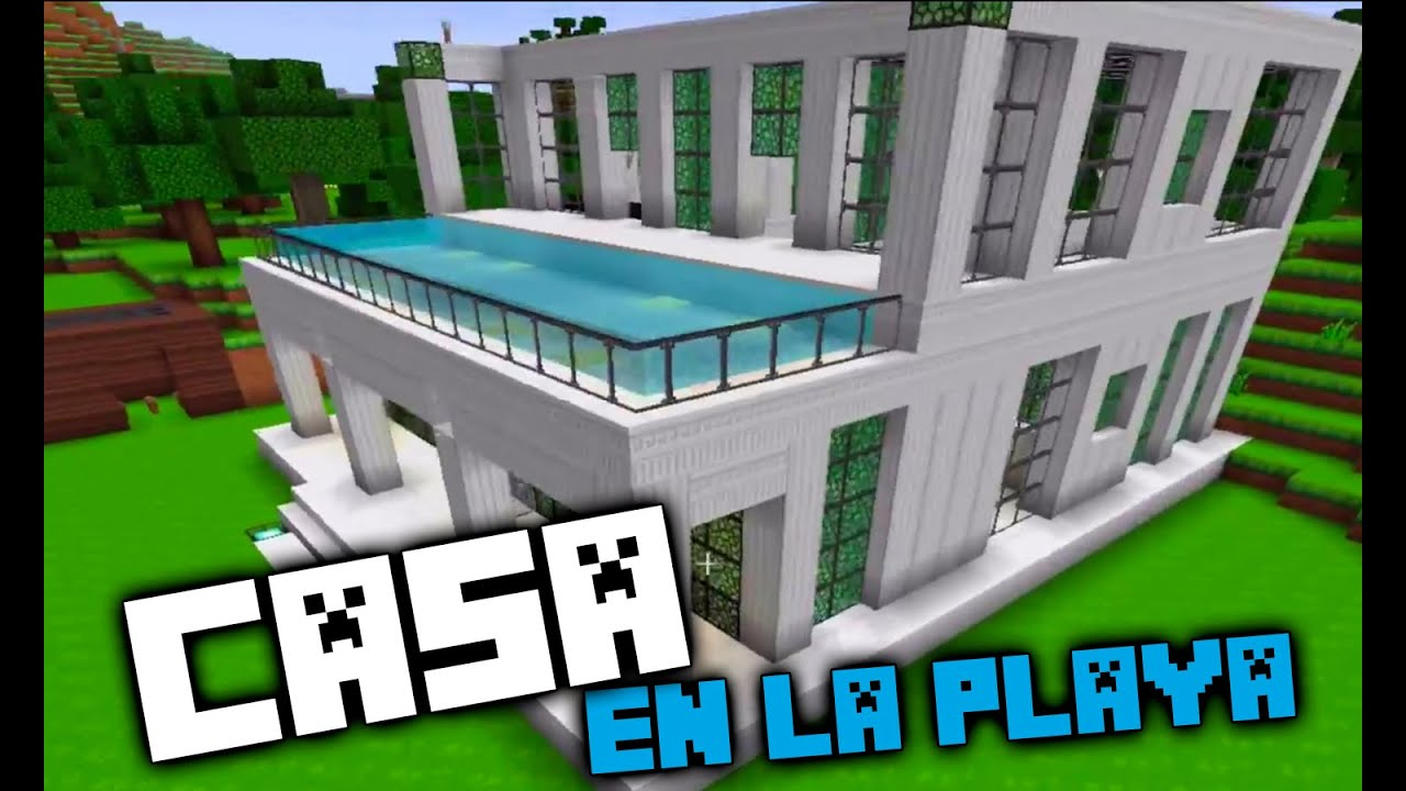 Casa en la playa minecraft youtube - Casas en tavernes de la valldigna ...