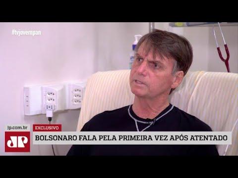Bolsonaro diz que atentado foi planejado