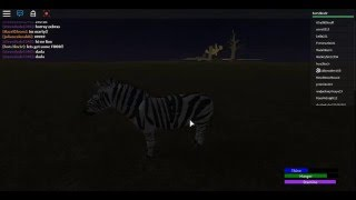Roblox:Wild Africa WIP:Gameplay!