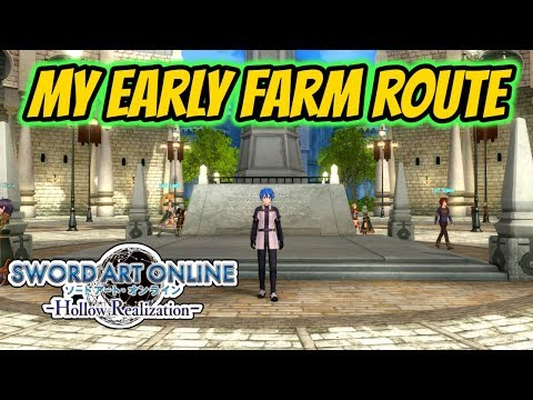 Sword Art Online: Hollow Realization   Episode 3 - Story So Far & My Early Game Farm Route