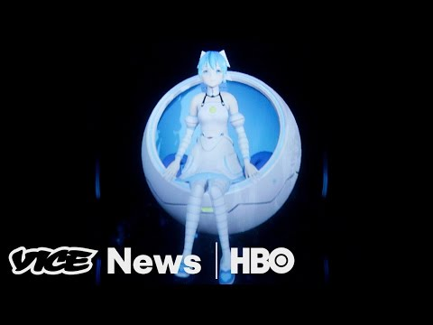 Japan's Virtual Wife & Barcelona Tourism: VICE News Tonight