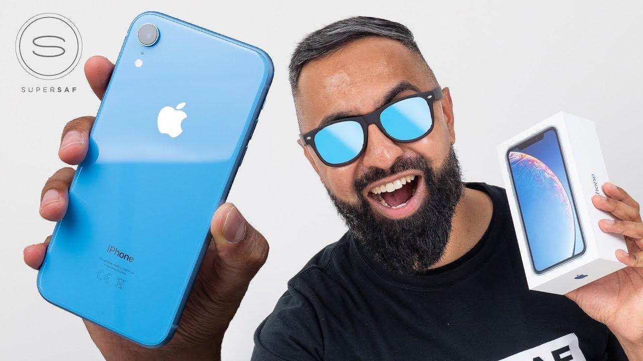 d7bd5d2d3 iPhone XR UNBOXING - YouTube