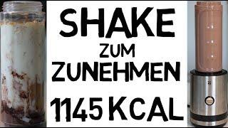 Schnell zunehmen mit diesem Shake 1145 Kalorien Gesund amp; Lecker