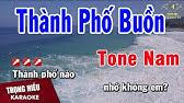 Karaoke Thành Phố Buồn Tone Nam Nhạc SốngTrọng Hiếu