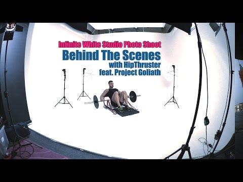 Infinite White Studio Photo shoot Behind the Scenes