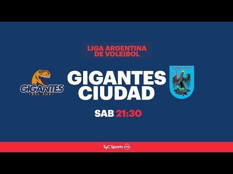 Liga Argentina: Gigantes del Sur vs. Ciudad Voley l #VoleyEnTyCSports
