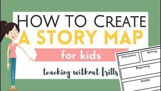 Çocuklar için Hikaye Haritası Oluşturma