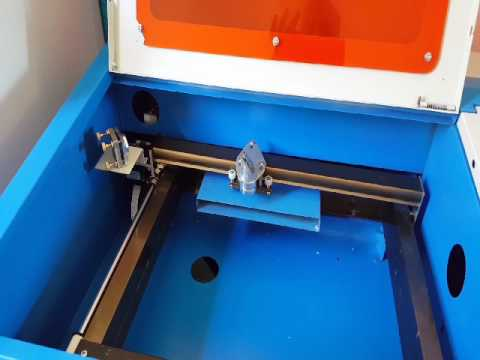 China 40w CO2 laser X axis problem