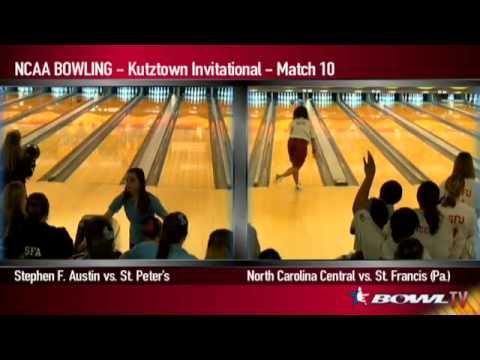 NCAA Bowling - 2013 Kutztown Invitational Day 2