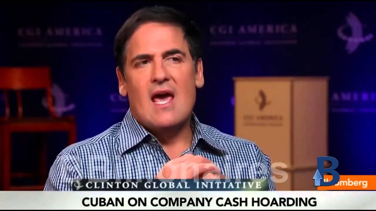 Mark Cuban Only Morons start a business on a loan Basement Billionaire - YouTube
