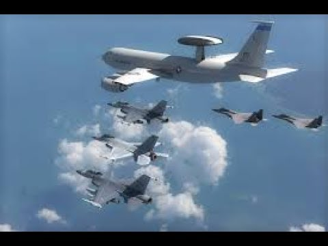 DCS - F-15 - Awacs Escort (Goes bad)